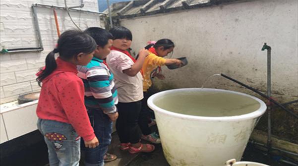 给孩子提供一碗清水